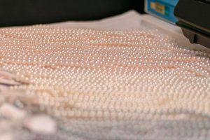 真珠の連材